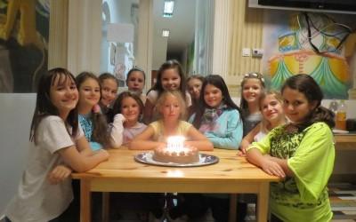 Jázmin 10 éves szülinapi bulija – 2015
