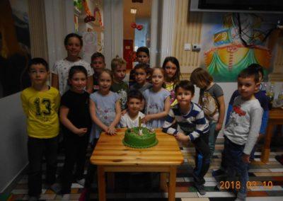 Dávid 7 éves szülinapi bulija Vitálban - 2018