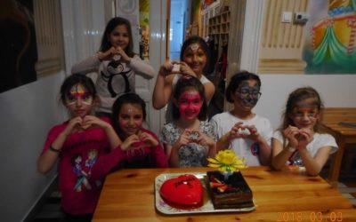 Tamara 8 éves szülinapi bulija – 2018
