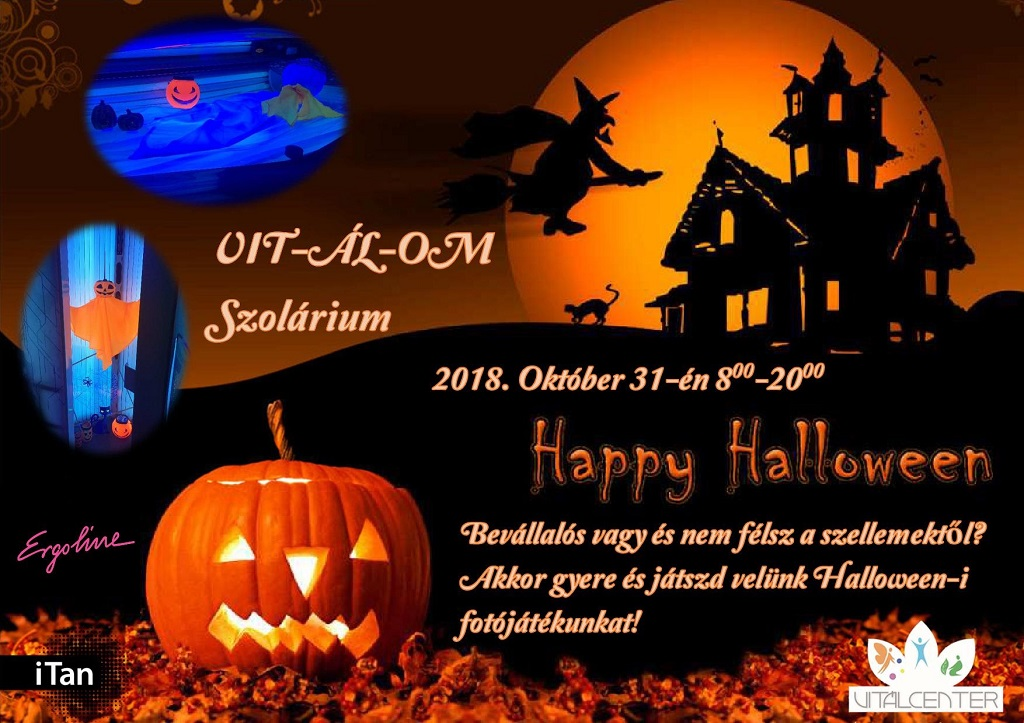 Vitálom Szolárium halloween - 2018