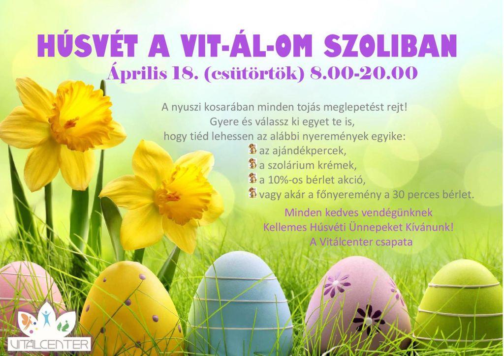 Húsvét a VIT-ÁL-OM szoliban